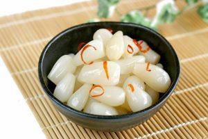 漢方にも使われていた1日3つの「らっきょう」で栄養管理!