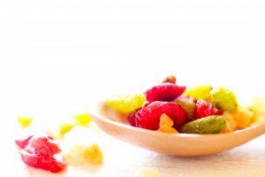 栄養たっぷりでおやつに最適なドライフルーツでキレイに♪