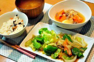 一人暮らしでも出来る簡単栄養たっぷりレシピ